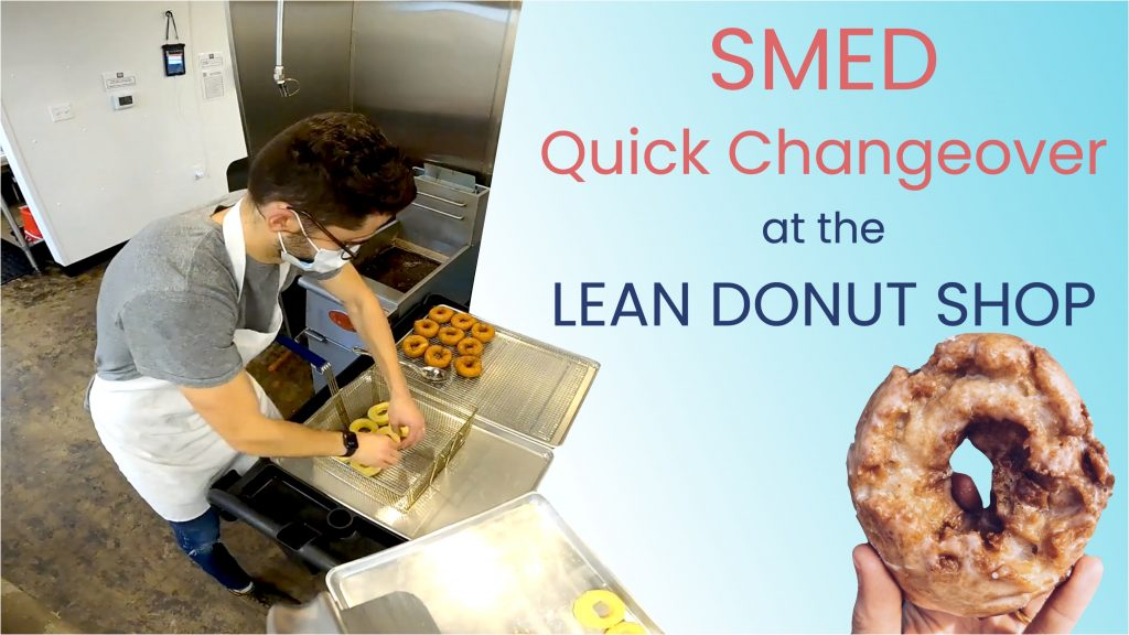 Quick Changeover Video (SMED) at the Lean Donut Shop